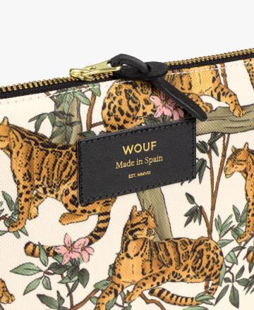 Petite pochette Lazy jungle - Wouf