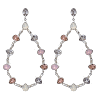 Annabelle earrings - Rose opal - Lily & Rose