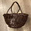 JB Basket Dark Brown - Dragon Bags