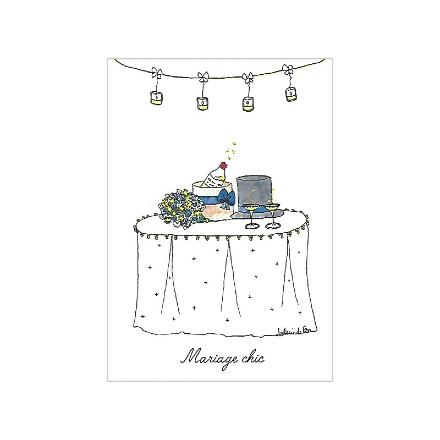 Carte Mariage Chic