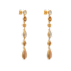 Lucy earrings - Champagne - Lily & Rose