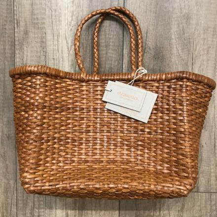 B Weave small Tan - Dragon Bags