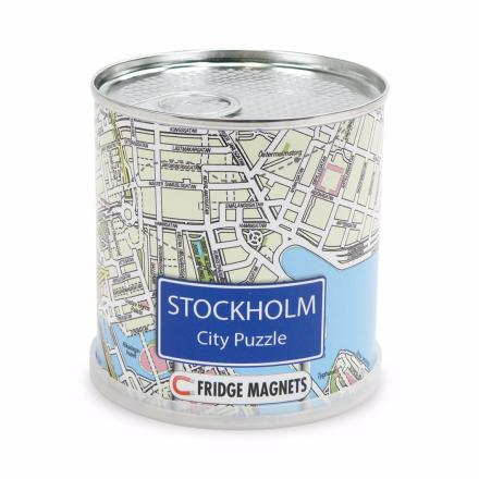 Stockholm city puzzle magnets - Extragoods