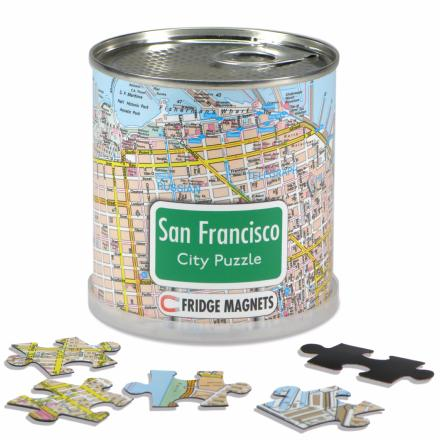San Francisco city puzzle magnets - Extragoods