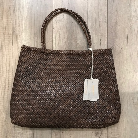 Sophie big Dark Brown - Dragon bags