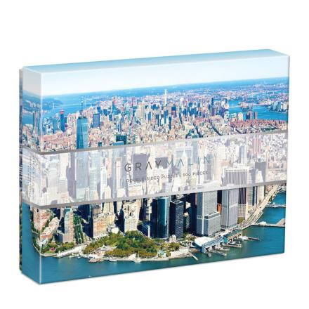 Puzzle New-York two sided puzzle