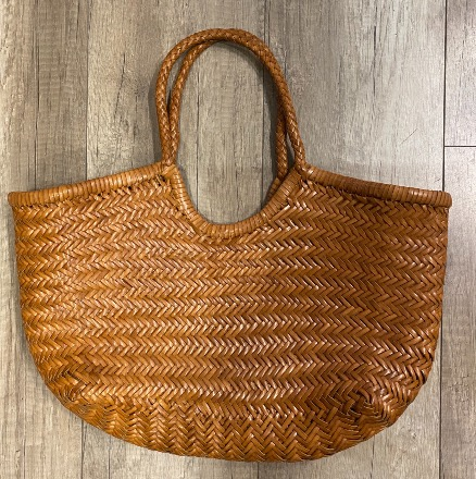 Nantucket big Bamboo British Tan - Dragon Bags