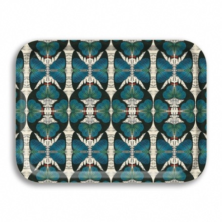 Plateau Blue Butterfly  BY PATCH NYC.