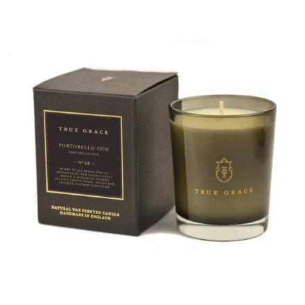 Manor classic candle Portobello Oud - True Grace