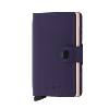 Mini Wallet Matte PURPLE ROSE - Secrid