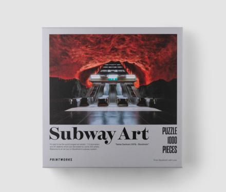 Puzzle Subway art fire