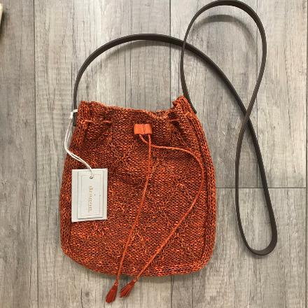 Knit pompom cable - Dragon Bags