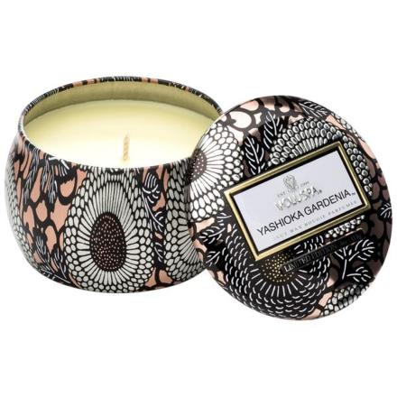 Mini Decorative Tin Candle Yashioka Gardenia - Voluspa