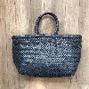 6 Lines Bamboo triple jump small Navy - Dragon Bags