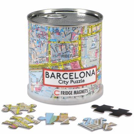 Barcelona city puzzle magnets - Extragoods